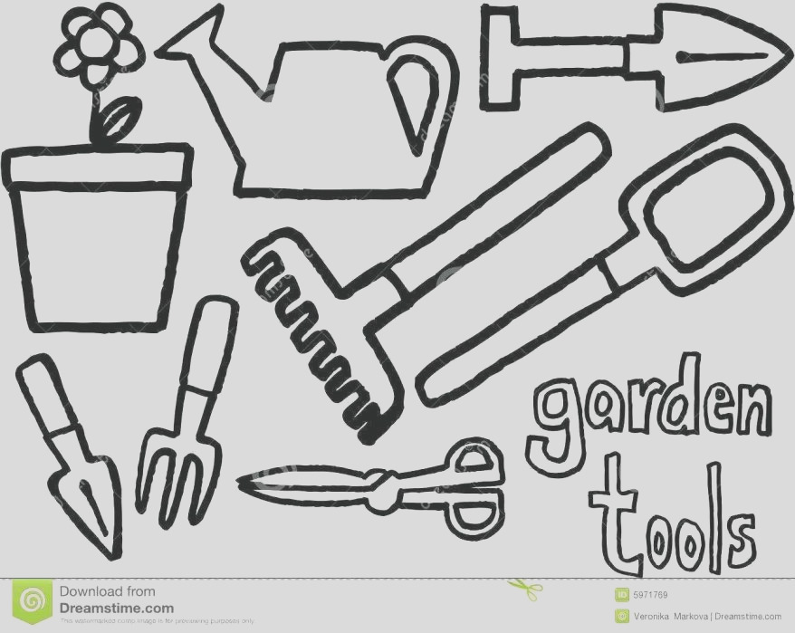 tools colouring pages