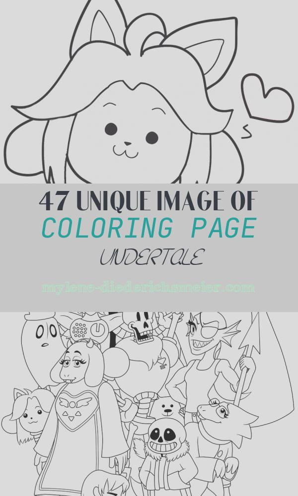 Coloring Page Undertale Fresh Undertale Coloring Pages