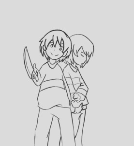 chara undertale coloring pages