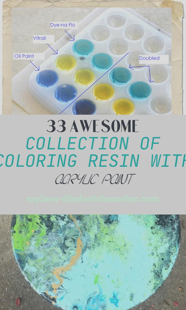 Coloring Resin with Acrylic Paint Beautiful Skinner Studio Color Color Color Alternative Ways to