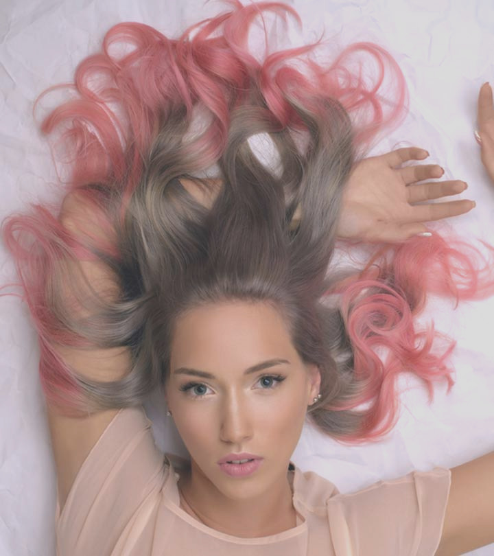 4 simple steps to colour your hair at home