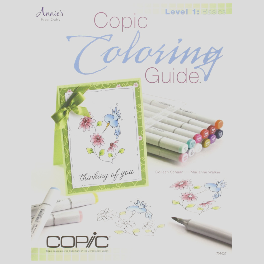 copic coloring guide level 1 basics Y