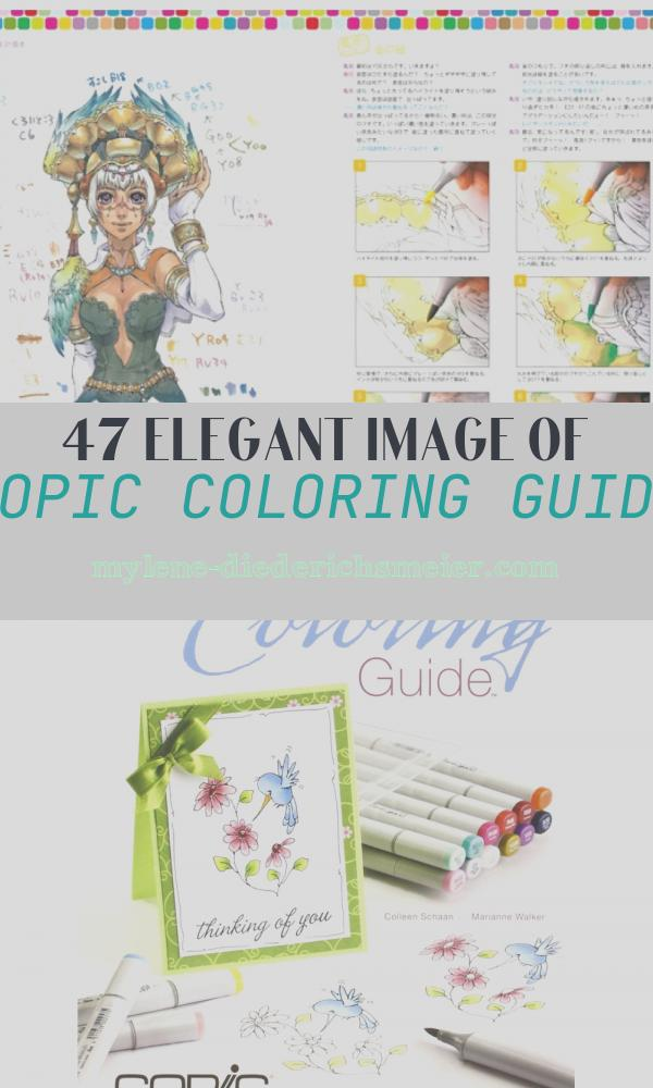 Copic Coloring Guide Best Of How to Use Copic Markers Copic Coloring Guide Tutorial