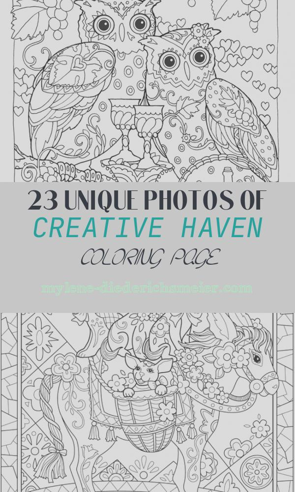 Creative Haven Coloring Page Lovely Creative Haven Owls Coloring Book by Marjorie Sarnat