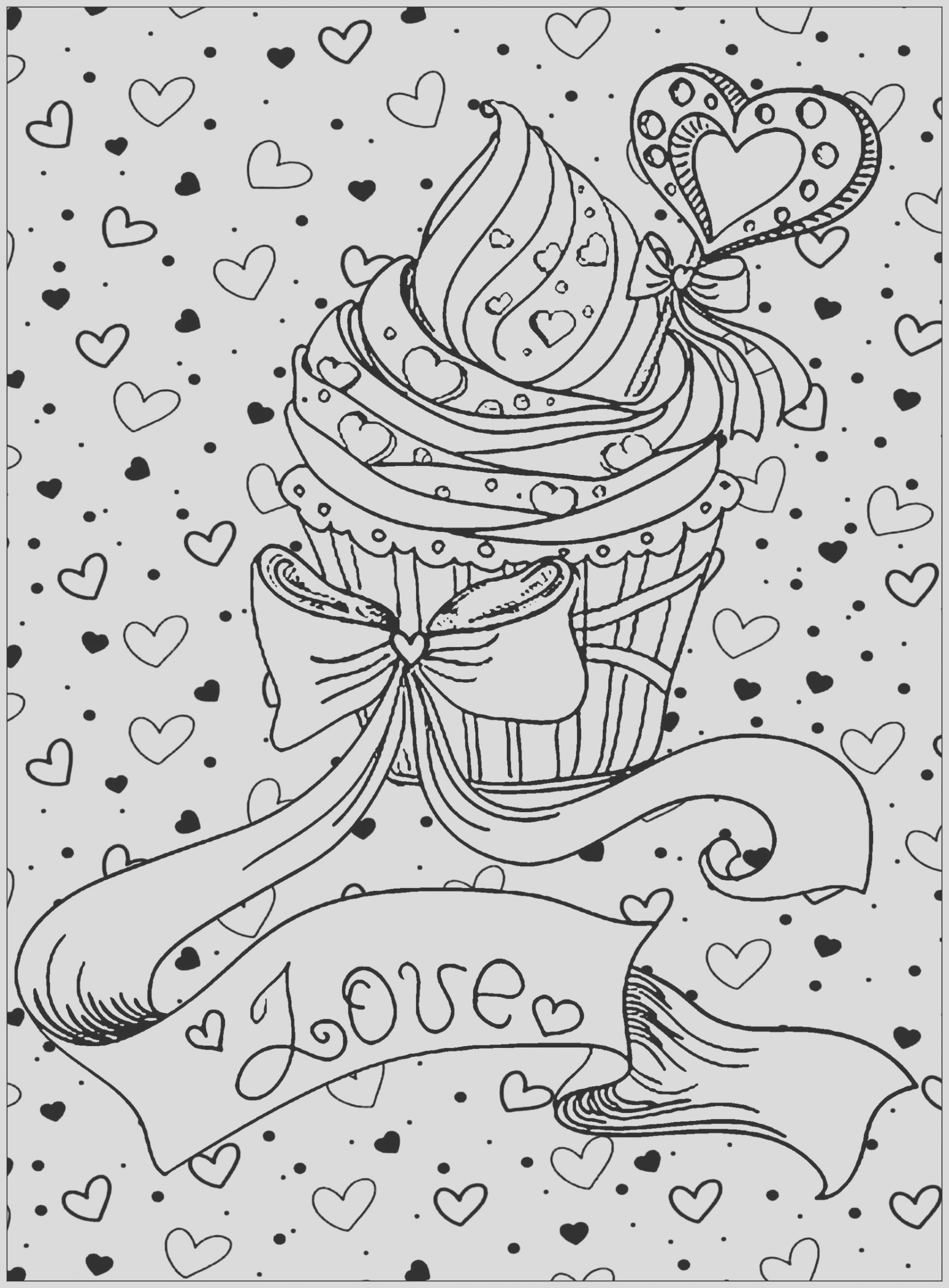 image=cup cakes coloring page cupcake love 1