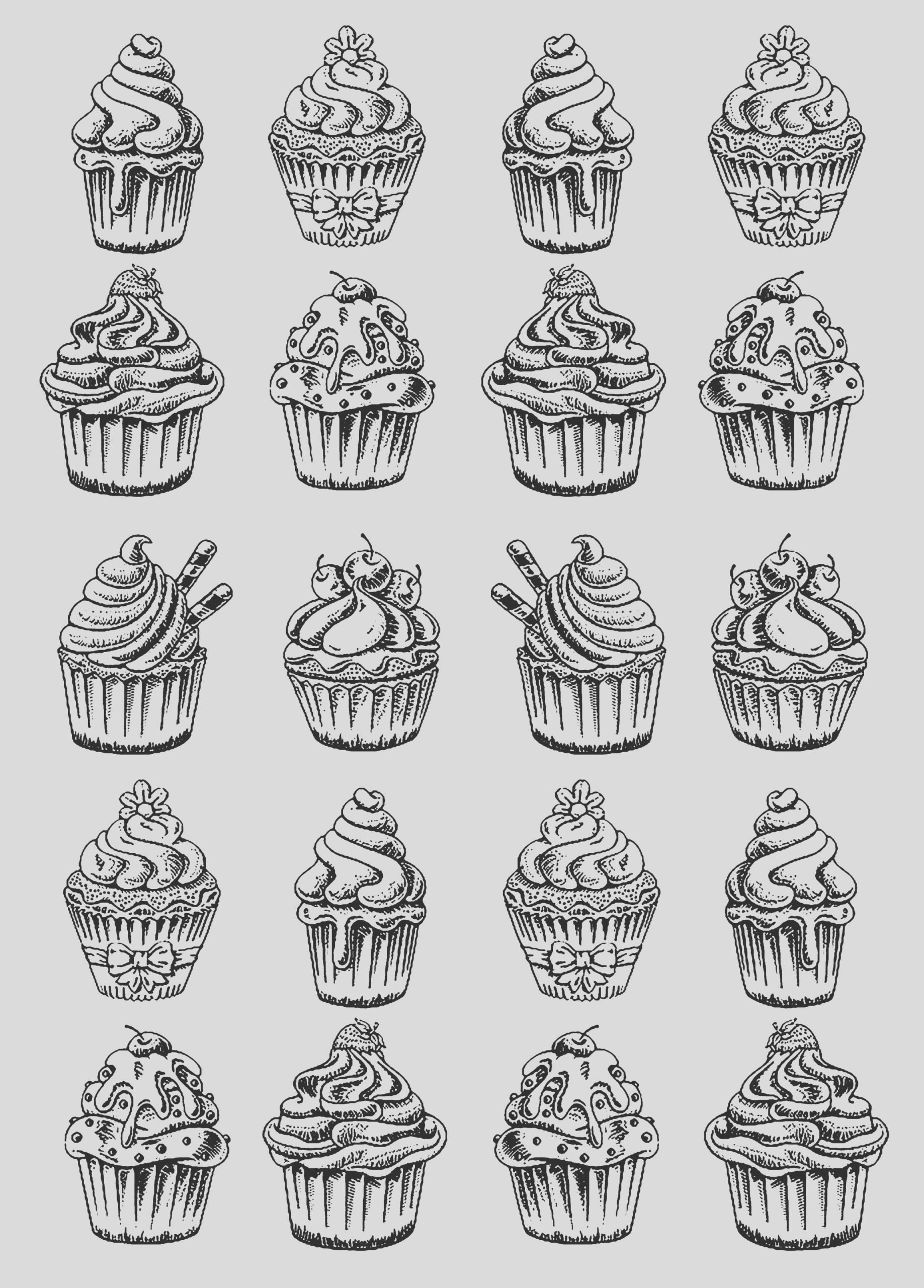 image=cup cakes coloring page twenty good cupcakes 1