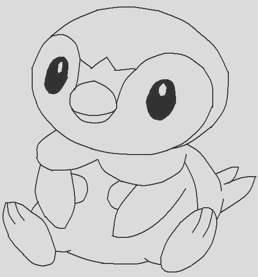 pororo little penguin coloring pages
