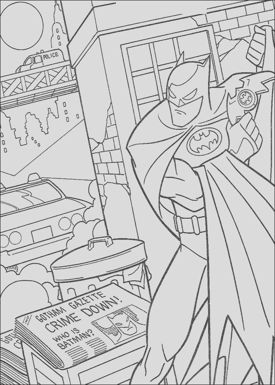dc ic coloring pages
