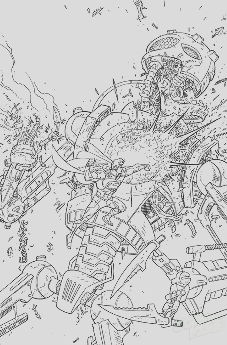 dc ic january 2015 coloring book variants plete