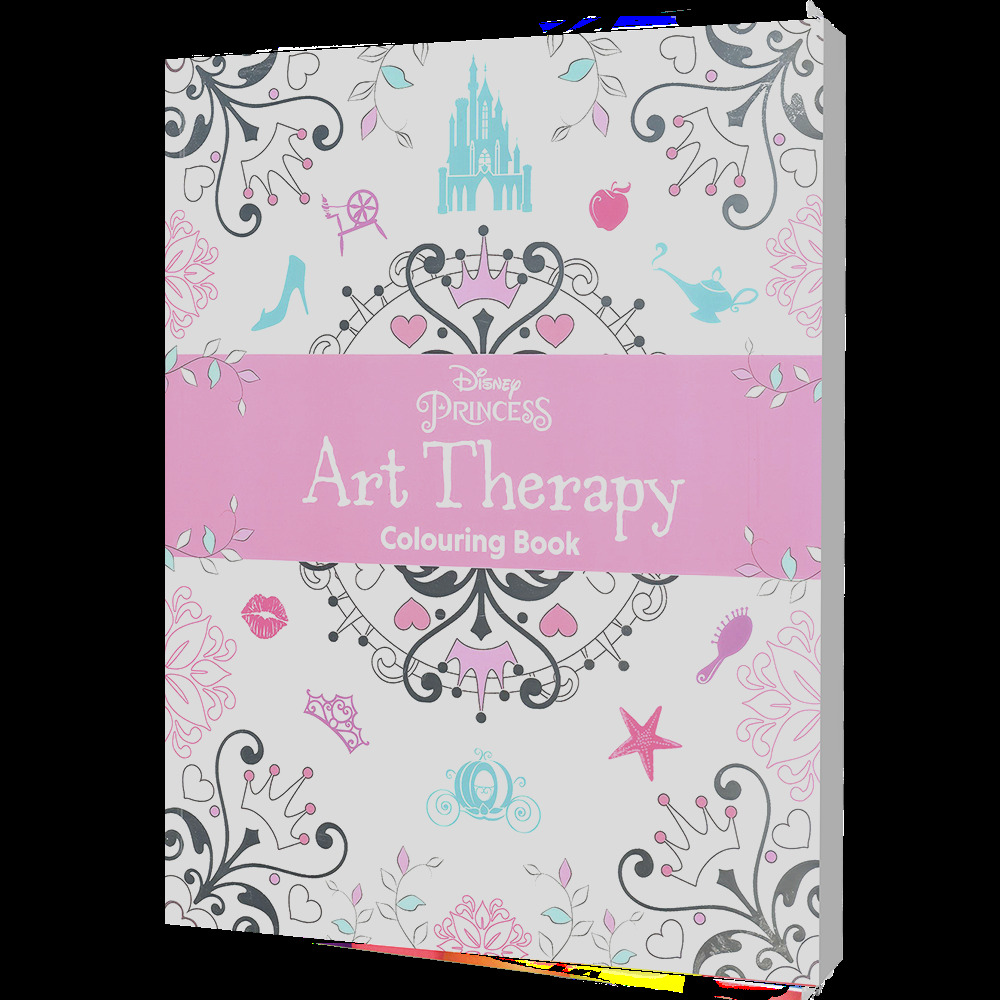 disney art therapy coloring princess