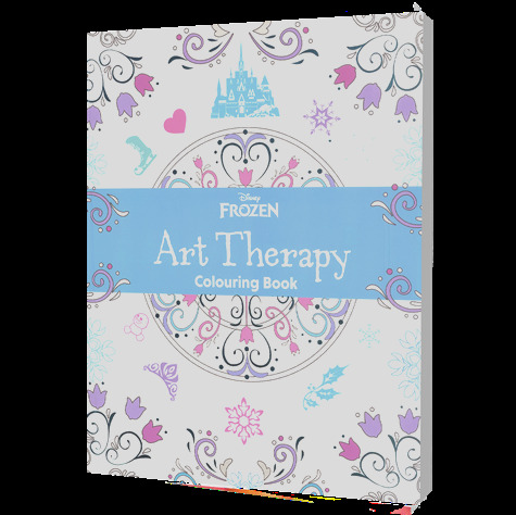 disney art therapy coloring frozen