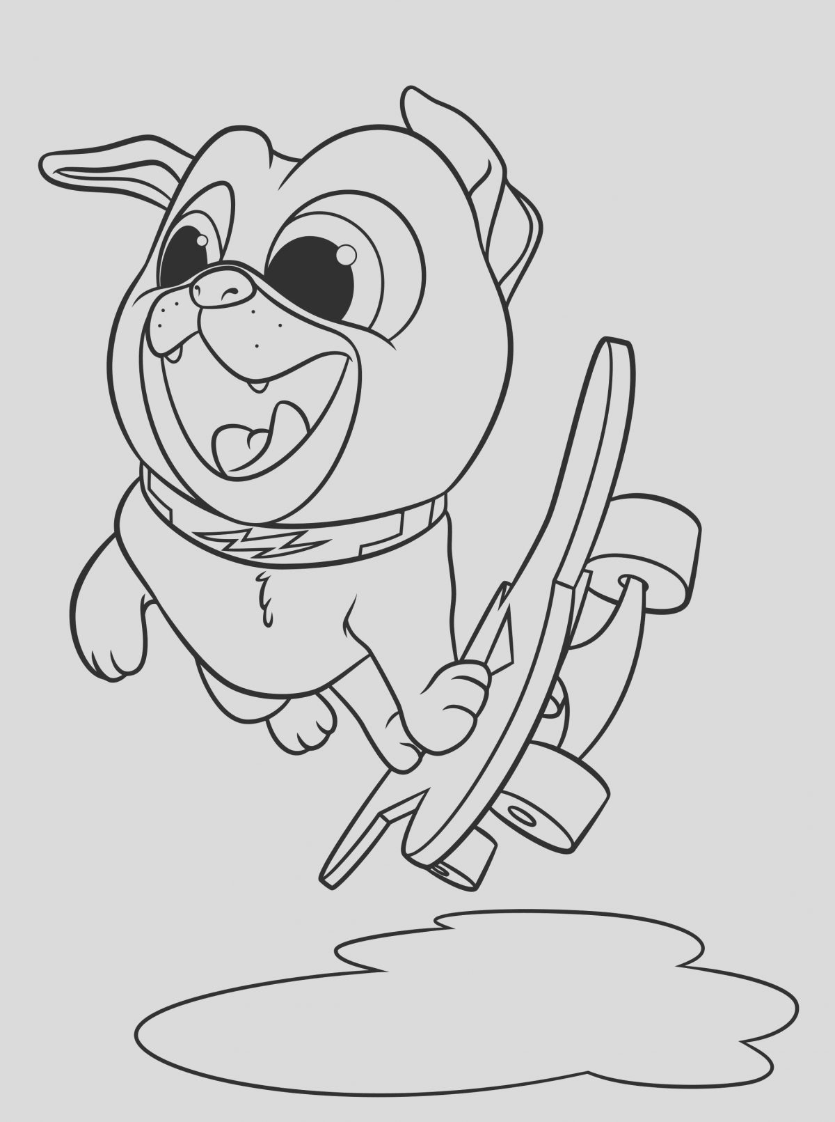 Dog and Puppy Coloring Page Lovely Puppy Dog Pals Coloring Pages to and Print for Free