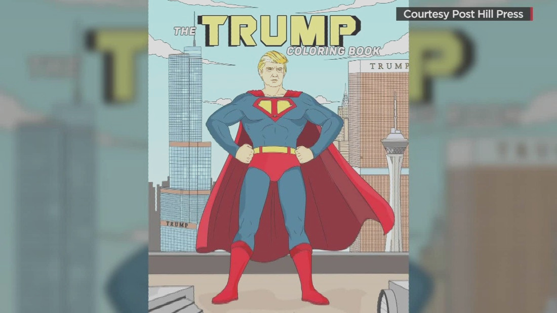 donald trump coloring book moos pkg erinn