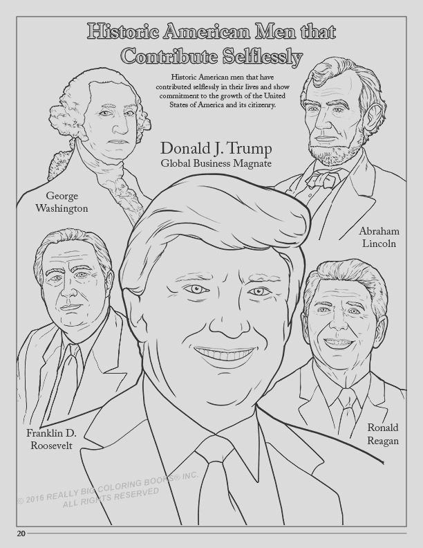 donald trump coloring book ic song