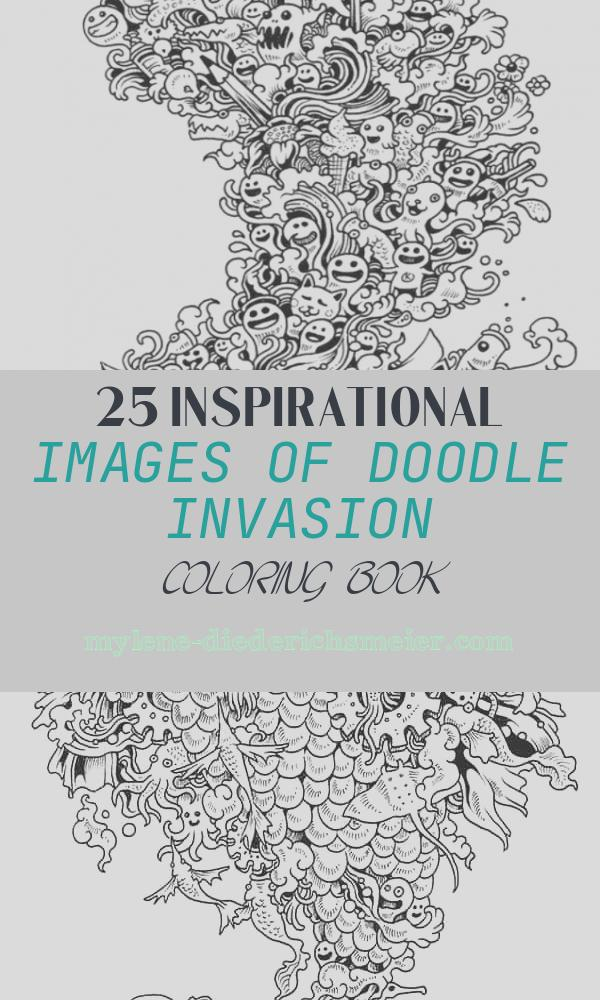 Doodle Invasion Coloring Book Inspirational Zifflin Coloring Books