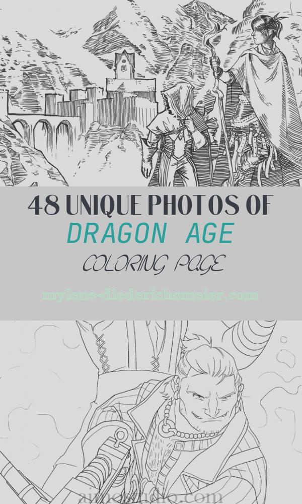 Dragon Age Coloring Page Fresh Coloring Age 2 – Bioware Blog