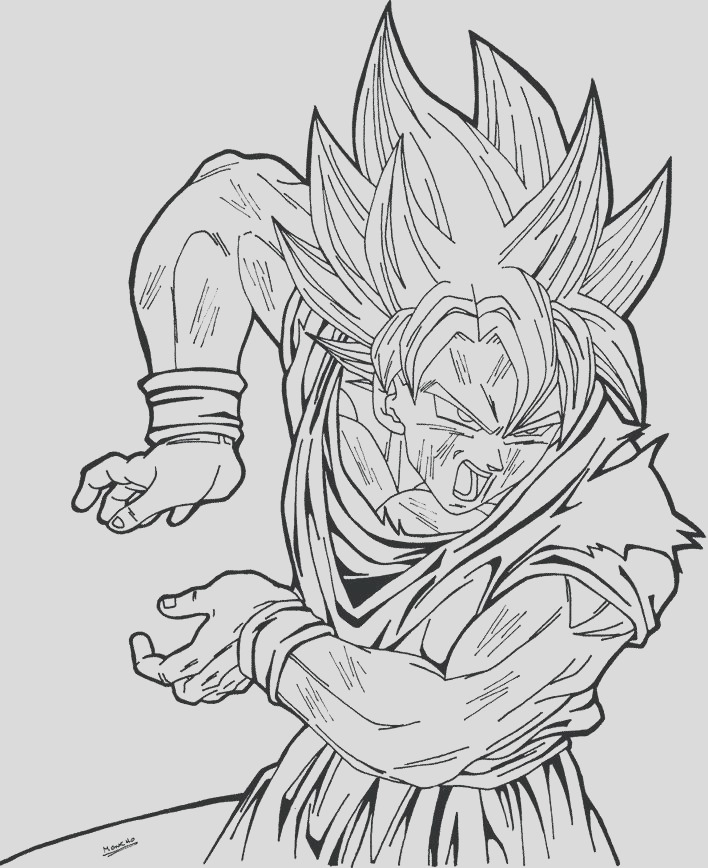 dragon ball z trunks coloring pages