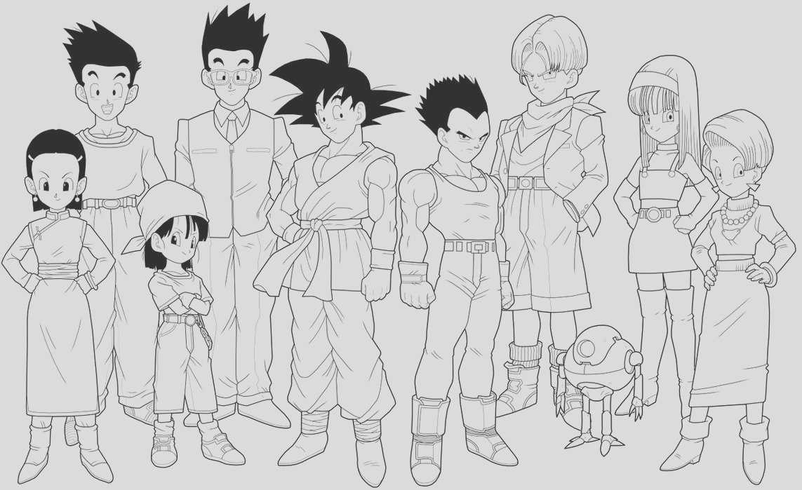 Dragon Ball GT 3rd preview