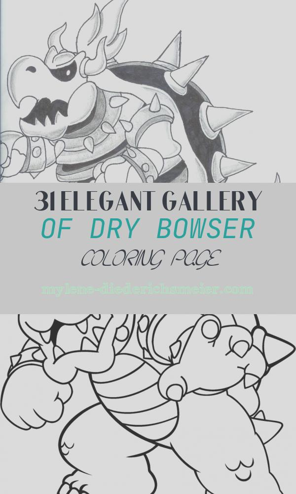 Dry Bowser Coloring Page New Dry Bowser by Iggythepacman On Deviantart