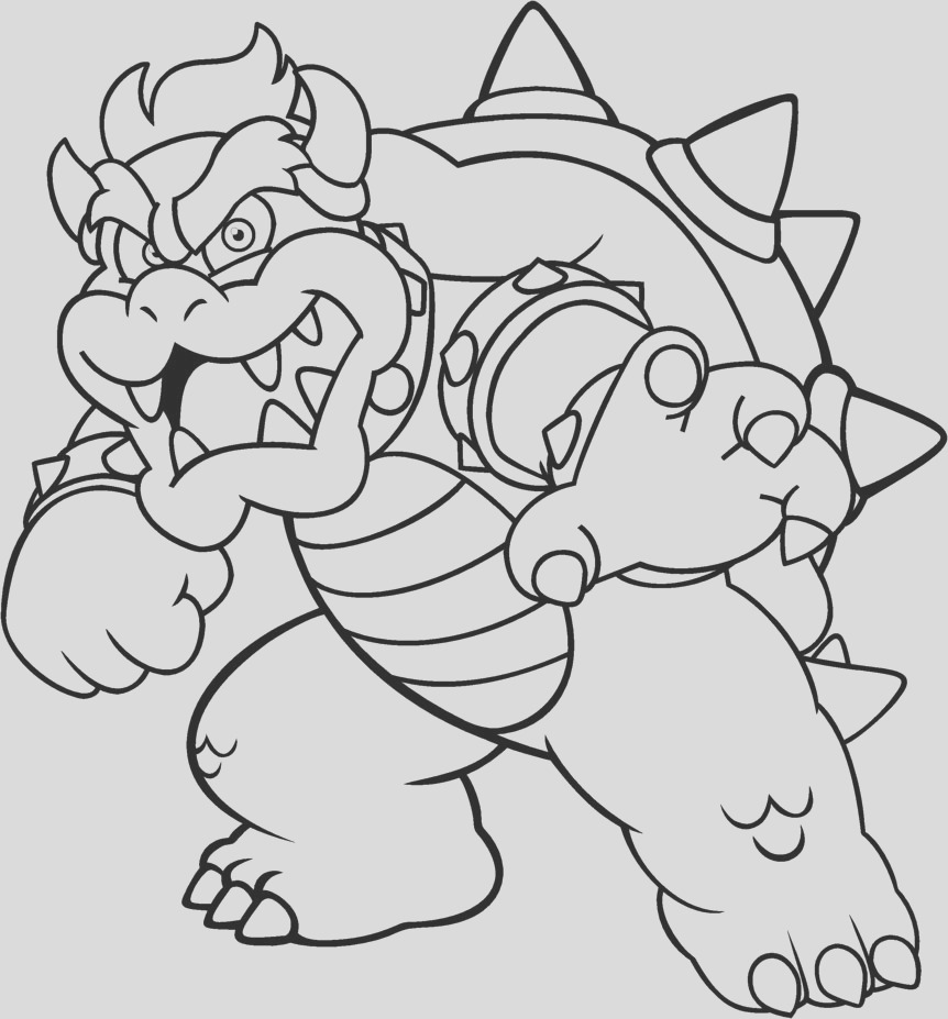 dry bowser coloring pages