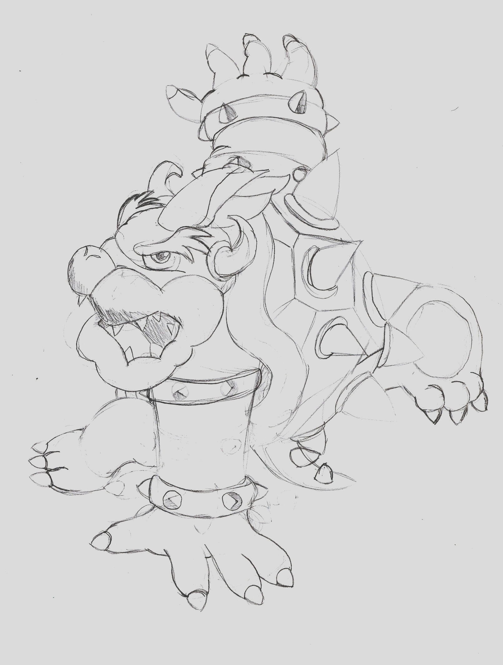 dry bowser coloring pages sketch templates