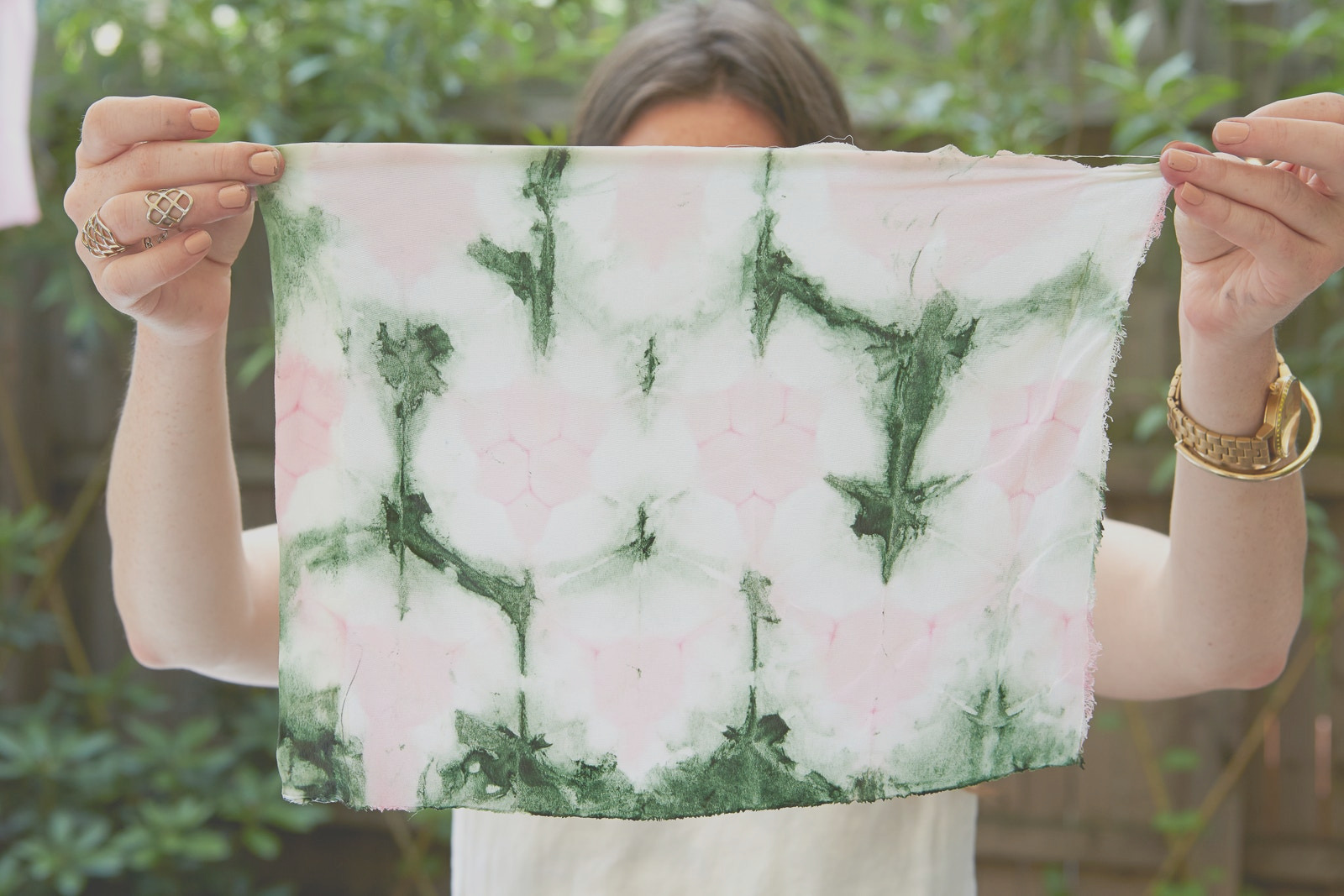 natural dyeing with foods