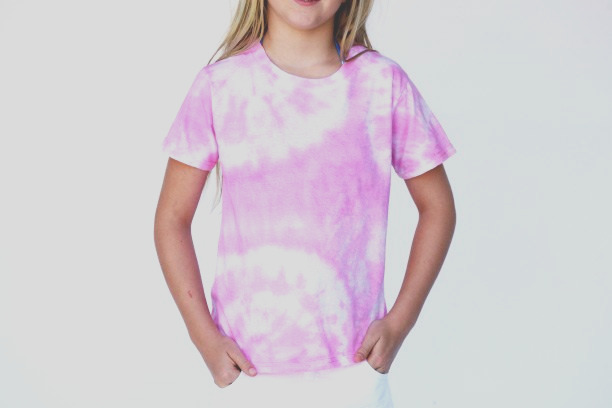 how tie dye shirts food coloring