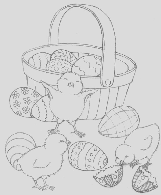 easter coloring pages free easter