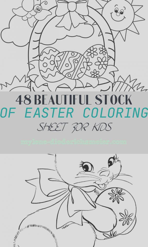 Easter Coloring Sheet for Kids Lovely Free Easter Coloring Pages Happiness is Homemade
