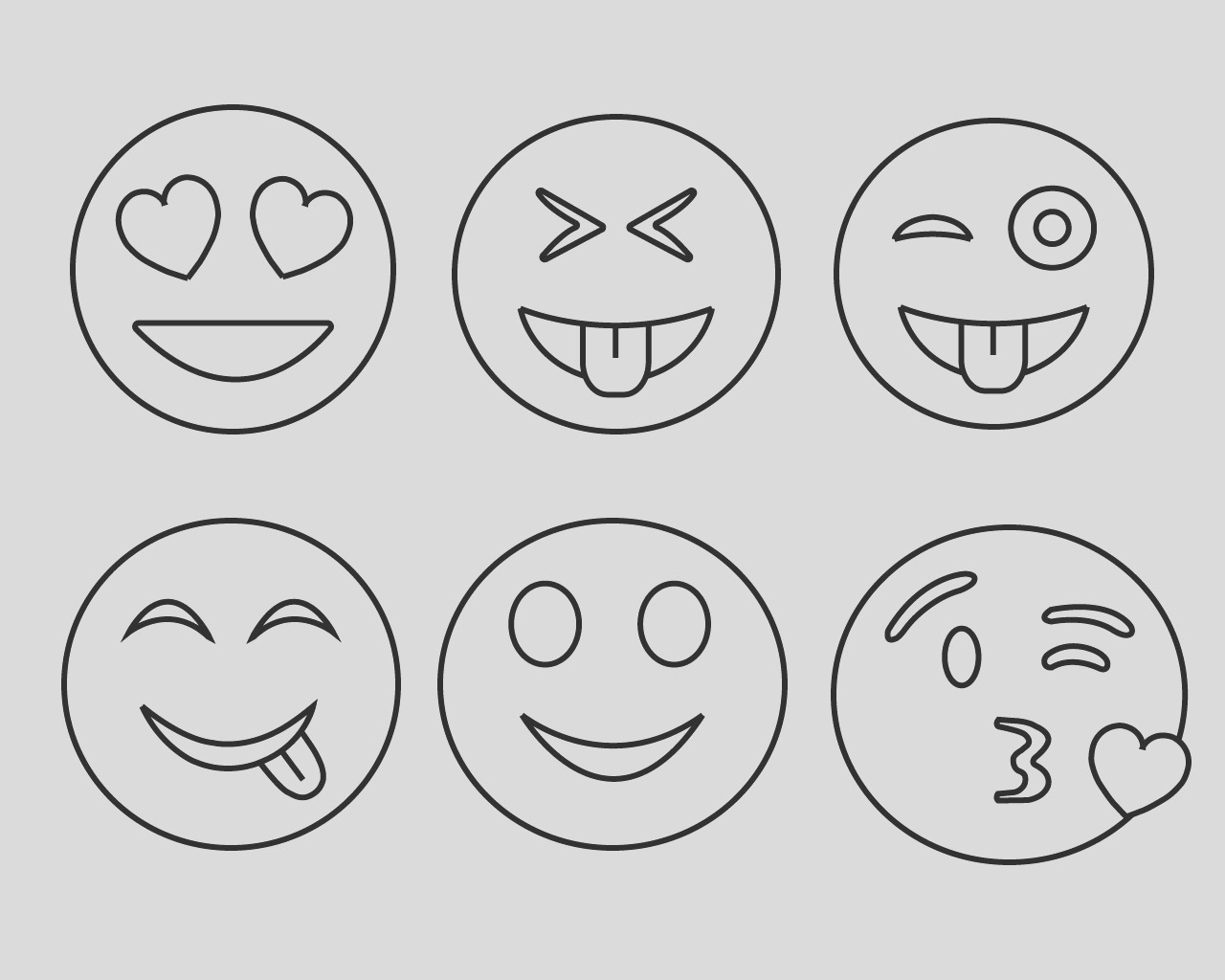 printable emoji coloring pages for your lovely toddlers