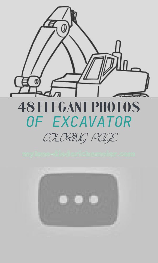Excavator Coloring Page Best Of How to Draw Excavator Truck Coloring Pages Truck Colors