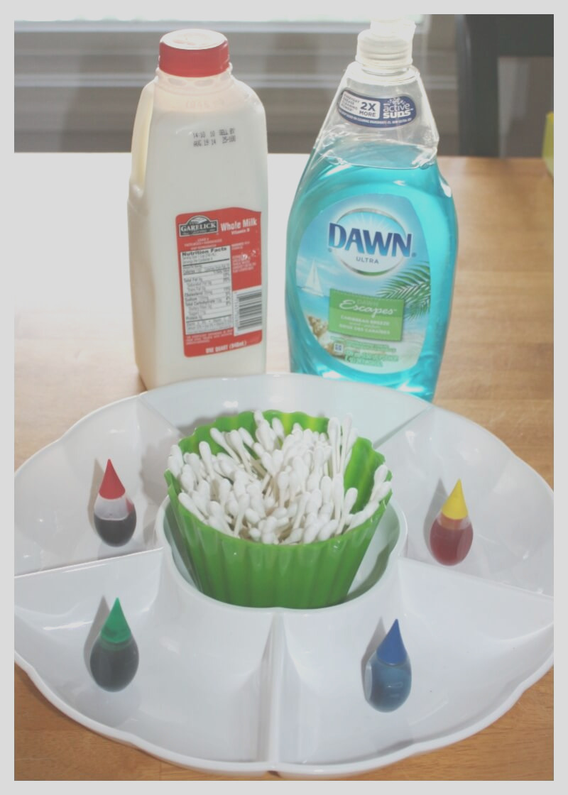 magic milk a classic science experiment for kids