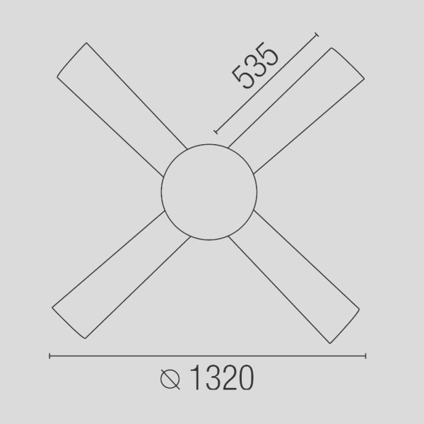 1091 ceiling fan in matte nickel color with remote control