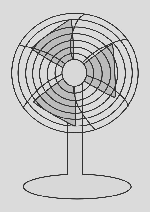 coloring page fan i