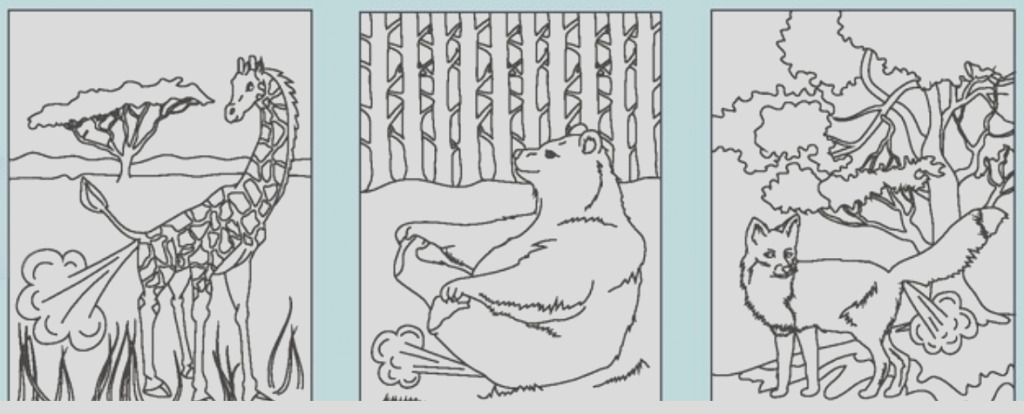 farting animals coloring book only 3 67 on
