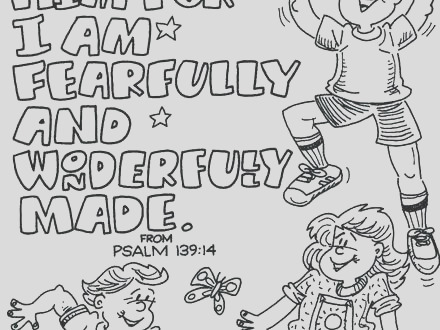 praise coloring page