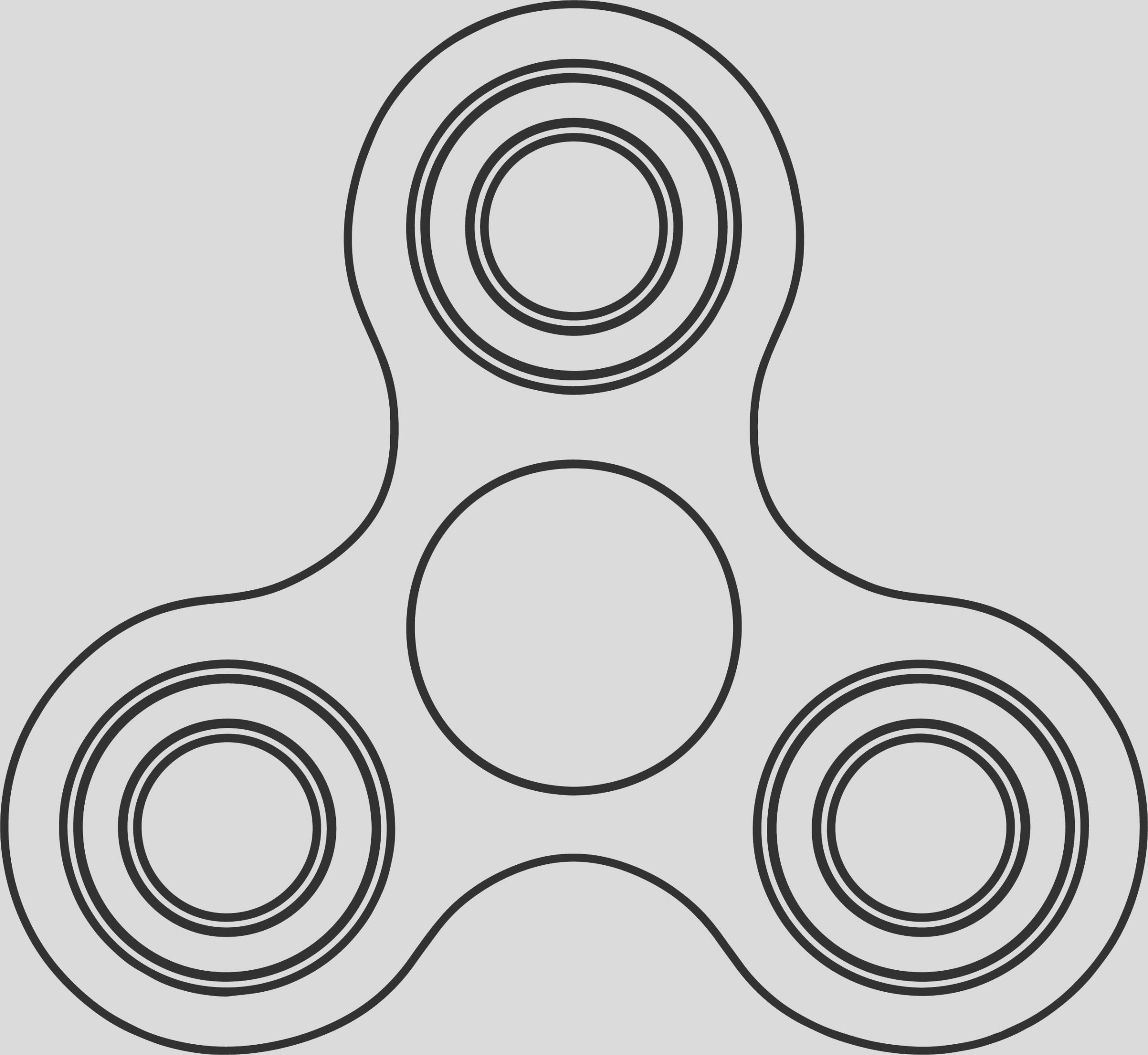 fid spinner coloring page