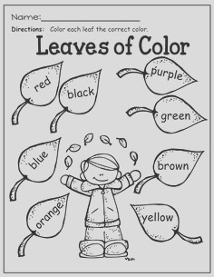 first day of fall coloring pages