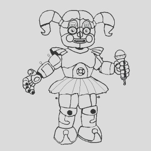 fnaf coloring pages sister location