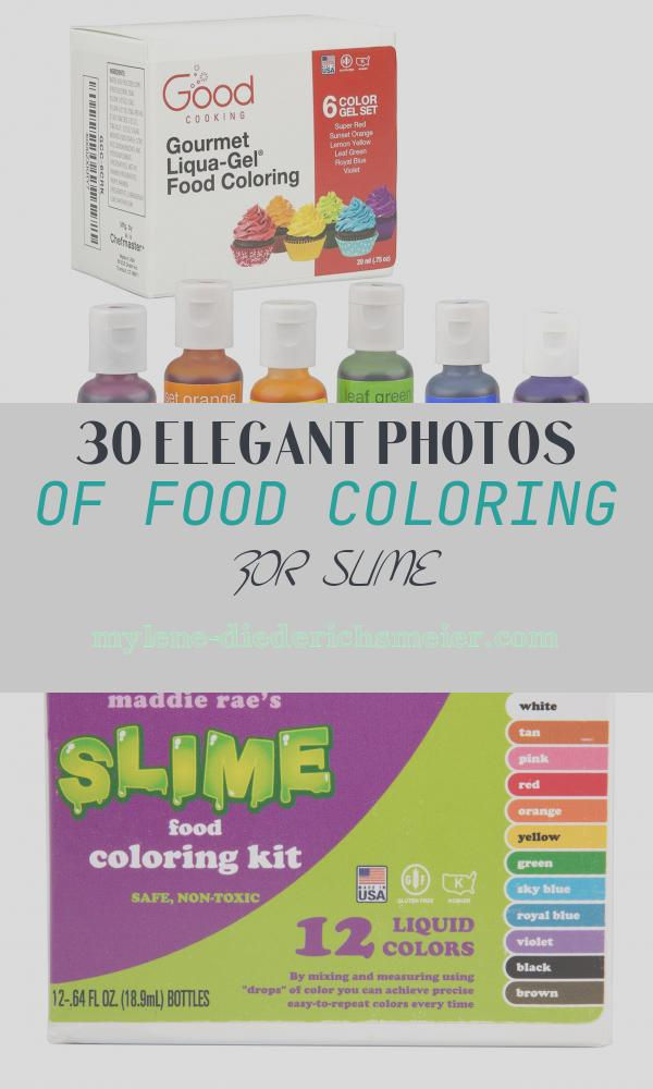 Food Coloring for Slime New Best Slime Recipe and Ingre Nts 2017