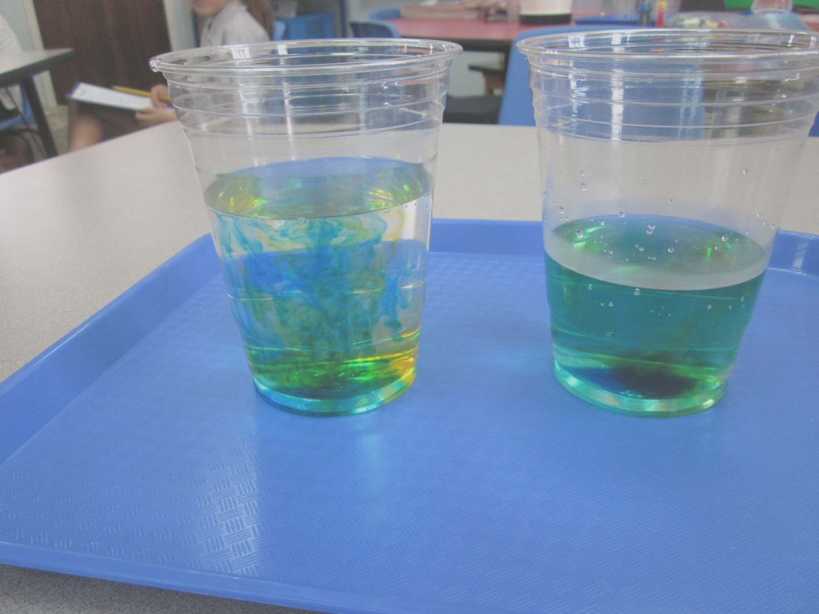 water experiments matter on move