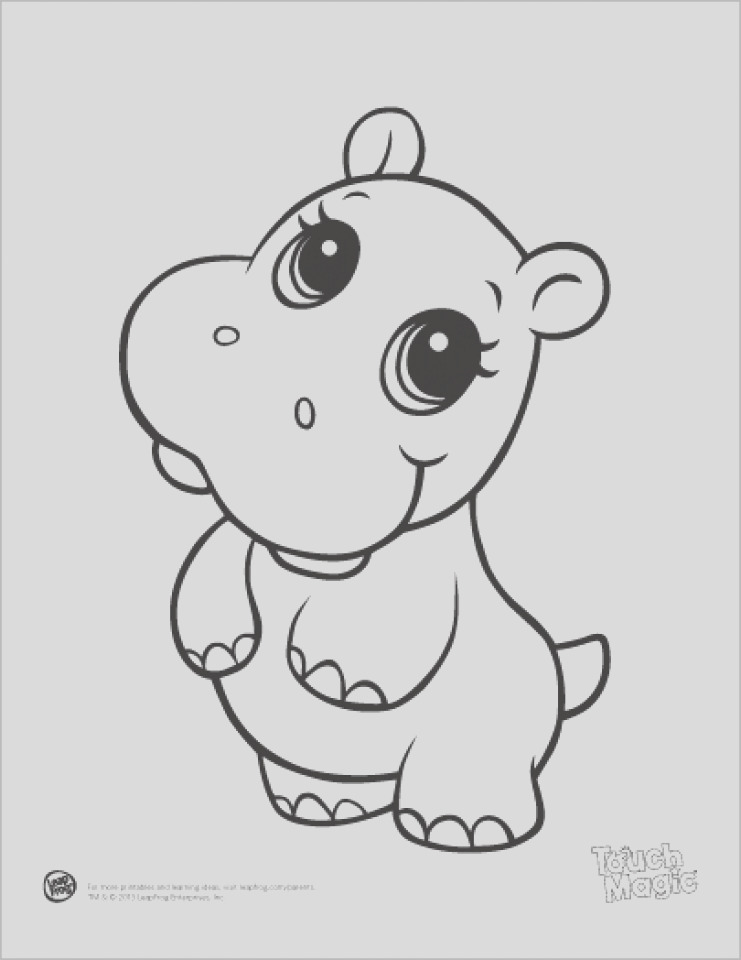 printable baby animal coloring pages online
