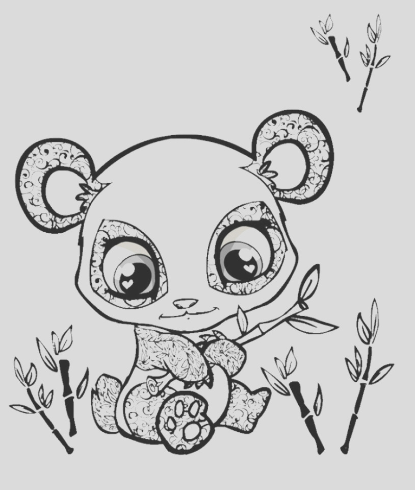 printable baby animal coloring pages