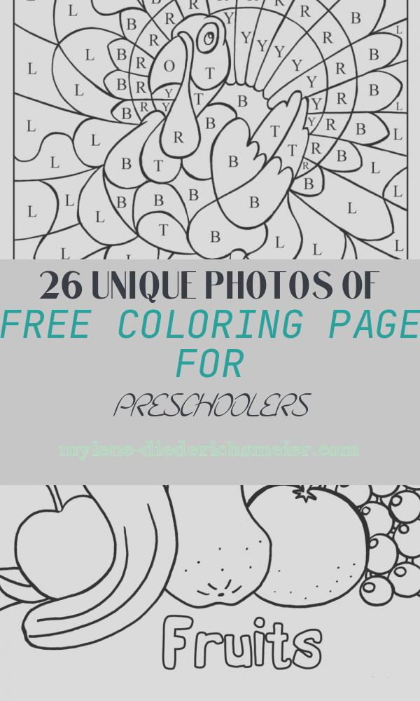 Free Coloring Page for Preschoolers New Thanksgiving Kid Printables A Girl and A Glue Gun
