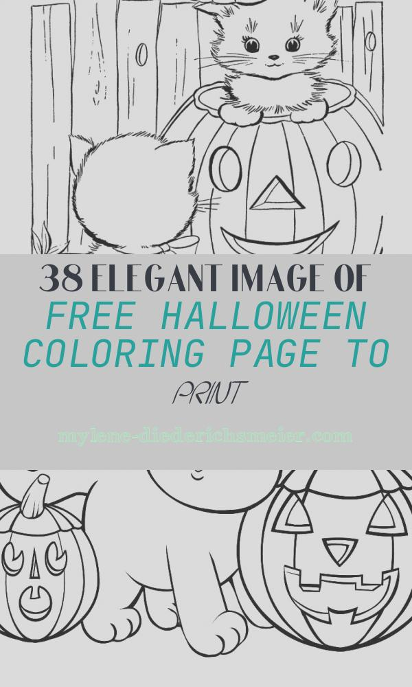 Free Halloween Coloring Page to Print Beautiful Halloween Coloring Pages
