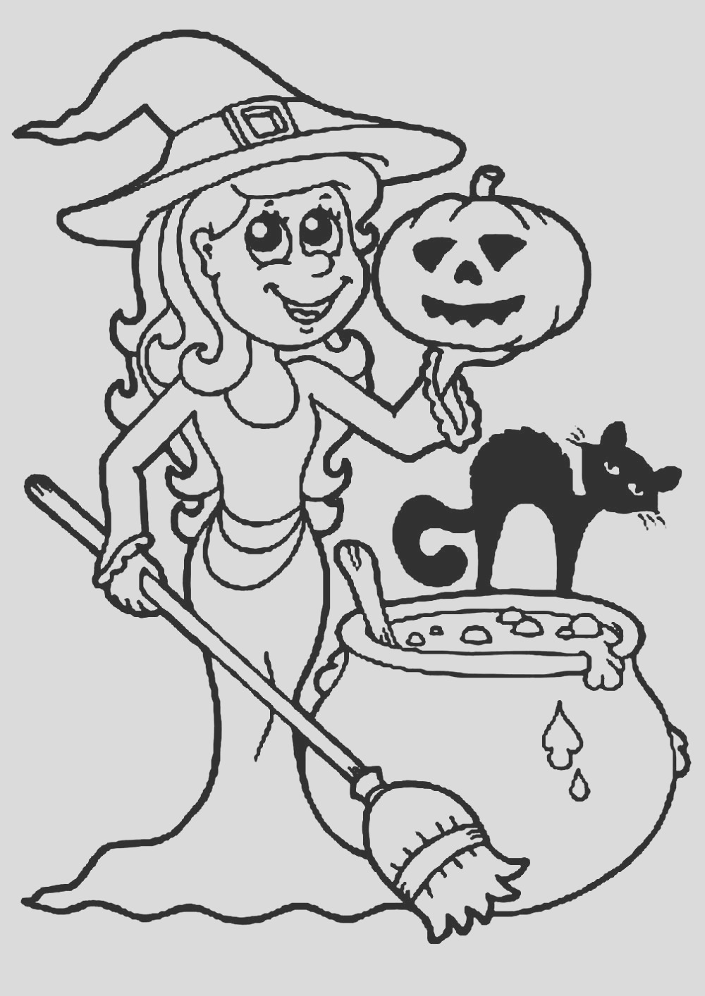 image=halloween coloring pages for children halloween 1