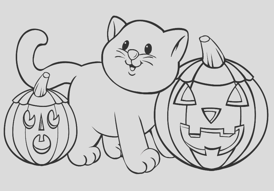 halloween coloring page 2