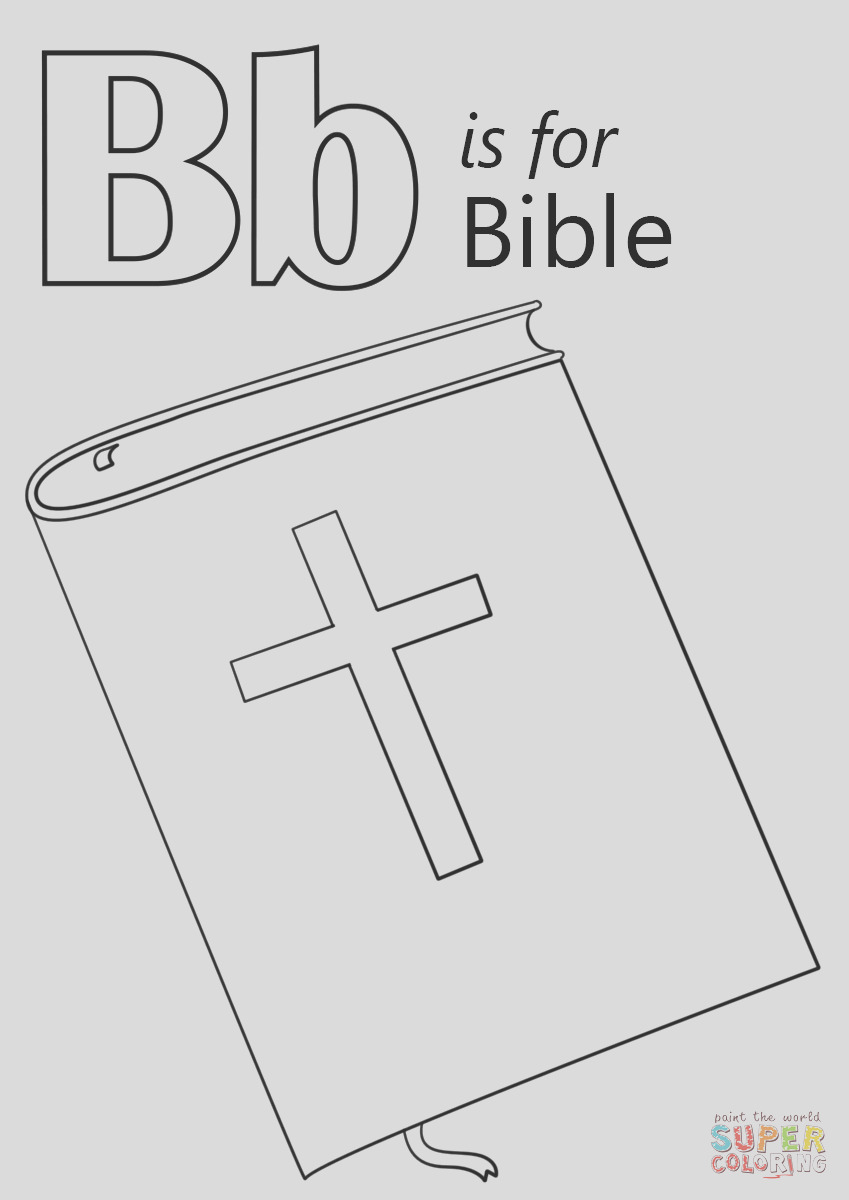 letter b is for bible