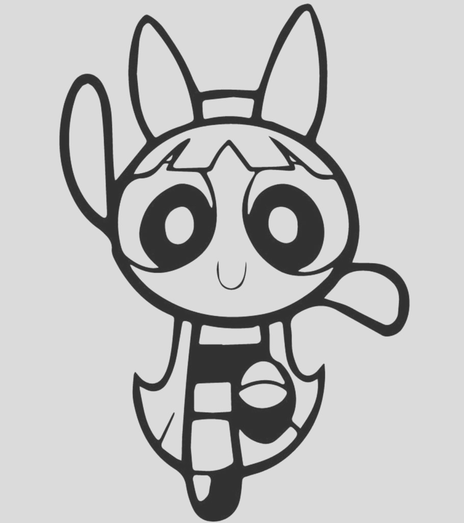 amazing powerpuff coloring pages for your little ones