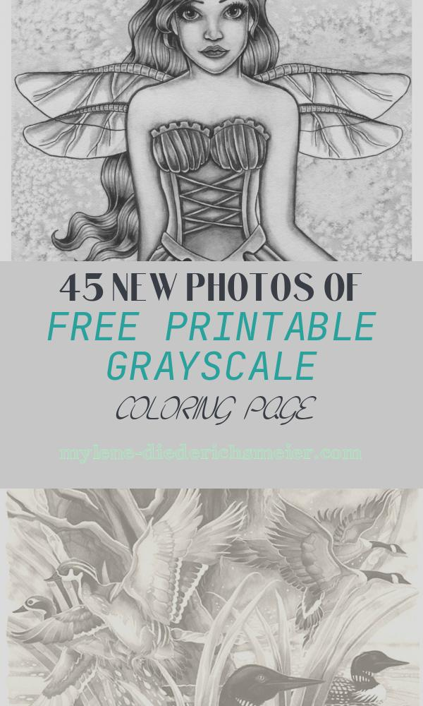 Free Printable Grayscale Coloring Page Elegant What is Grayscale Coloring the Fantasy Art Of Nikki